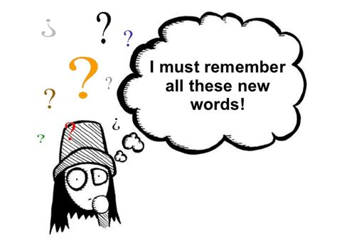 10 Words To Remember For A Healthy by How To Remember New Vocabulary