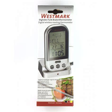 termometro alimenti termometro wireless per cottura cibi westmark