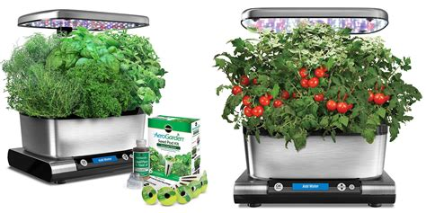 indoor herb garden kits miracle gro indoor herb garden kits hit amazon all time