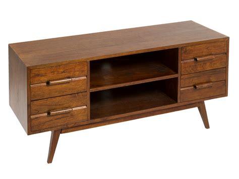 mueble tv nogal de madera de mindi estilo colonial mesa