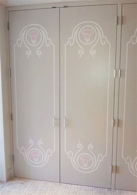 Contemporary Kitchen Island Lighting Hand Painted Closet Doors Contemporary Closet Los