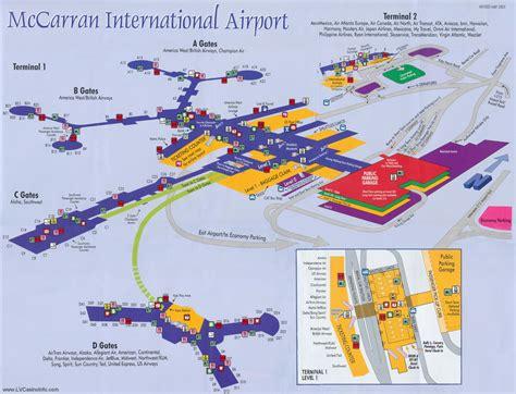 Las Vegas Airport Map by Las Vegas Airport Las Vegas Limo Diaries