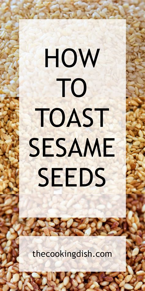 sesame seeds how to toast them in under 5 minutes
