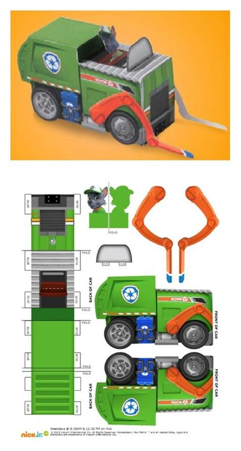 Paper Craft Central - 17 best images about papercraft on toys