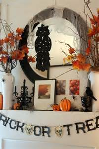 Decorating Ideas Halloween 70 Great Halloween Mantel Decorating Ideas Digsdigs