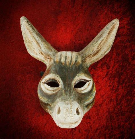 printable animal masks donkey 57 best bottom mask images on pinterest donkey donkeys