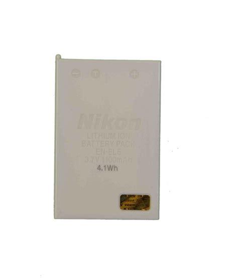 Battery Nikon En El5 By Invicom nikon en el5 with 1100 mah battery for coolpix p500 p80