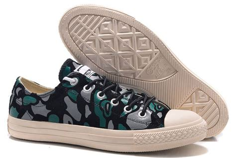 Sepatu Slip On Converse Camo Blue Size 39 43 2015 converse all suede camouflage chuck low