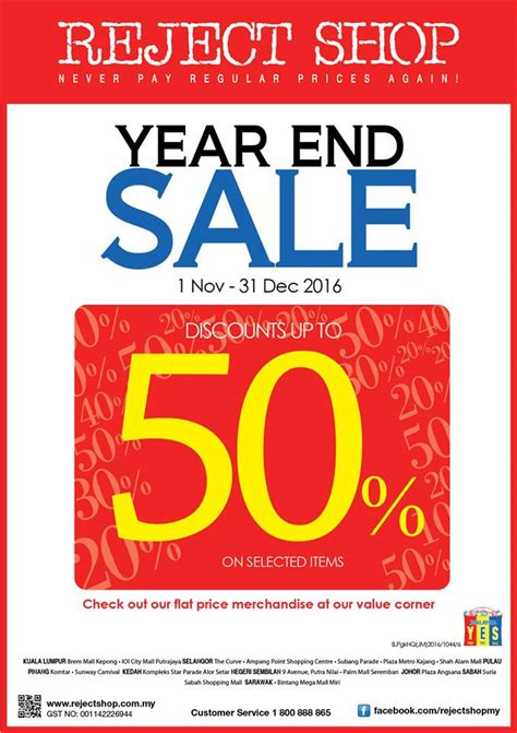 reject shop reject shop year end sale fashion clothing sale in