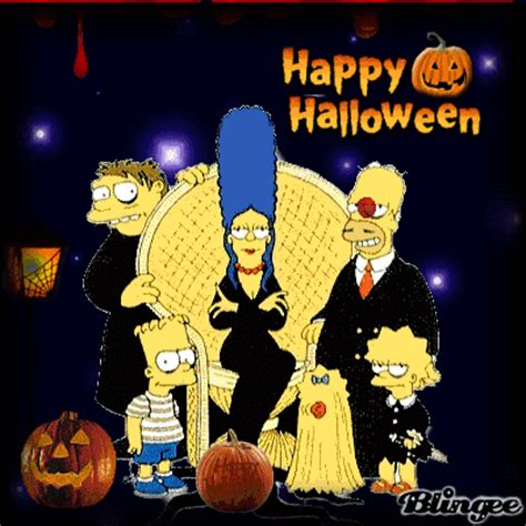imagenes happy halloween happy halloween los simpsons imagenes y carteles