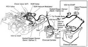 1995 toyota 4runner evap diagram toyota 3 0 v6 vacuum