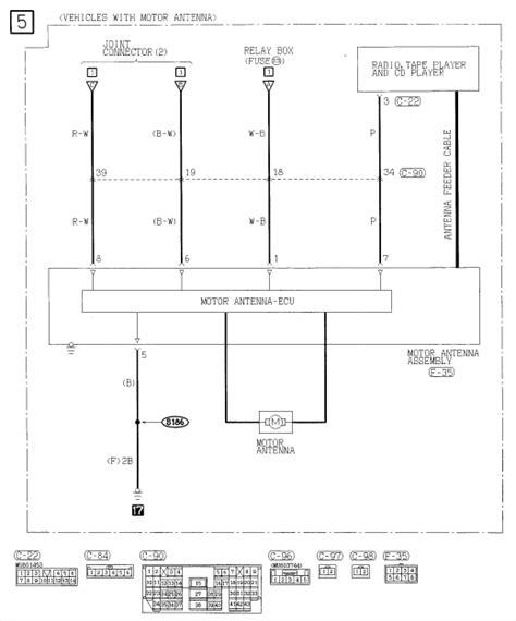 mitsubishi l200 abs wiring diagram l free