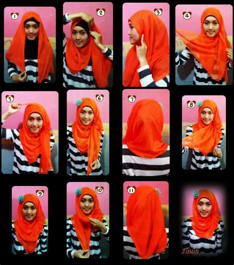 tutorial hijab segi empat com hijab tutorial 2013 joy studio design gallery best design