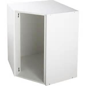 caisson de cuisine haut d angle ah60 70 delinia blanc l60