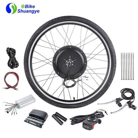 best electric bike kit 48v 1000w the best electric bike conversion kit shuangye