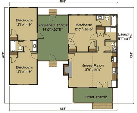 dogtrot house plan free dog trot house plans
