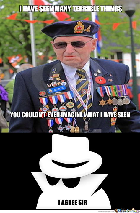 Meme War Veteran - i have seen many terrible things by momoxs meme center