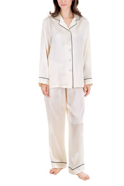 Silk Pajamas by 100 Silk Pajamas Clothing