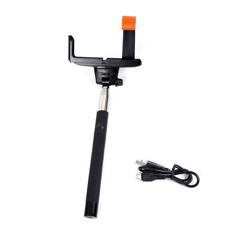Monopod Excell Mono 3 selfie extendable handheld stick mono pod builtin remote button extendable handheld portrait
