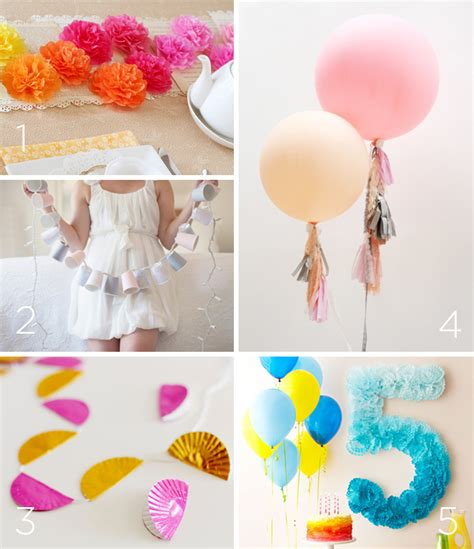 party themes diy awesome diy decoration ideas for birthday parties