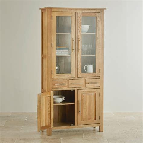 Glazed Dresser by Rivermead Glazed Dresser In Solid Oak Oak Furniture Land