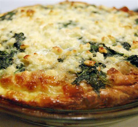 spinach muenster quiche recipe dishmaps