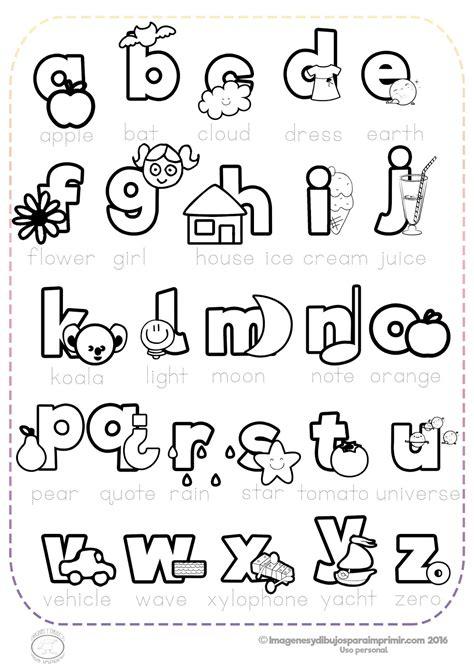 imagenes de ingles para imprimir abecedario en ingl 233 s para imprimir y colorear