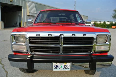 1993 dodge ramcharger le restored classic dodge