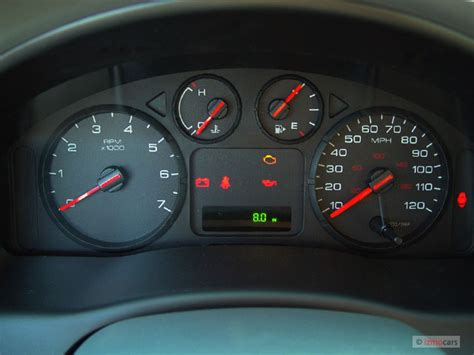 electric power steering 2005 ford freestyle head up display image 2005 ford freestyle 4 door wagon se instrument cluster size 640 x 480 type gif