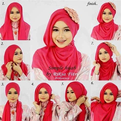 tutorial hijab paris untuk acara wisuda 10 tutorial hijab paris untuk wisuda meski sederhana