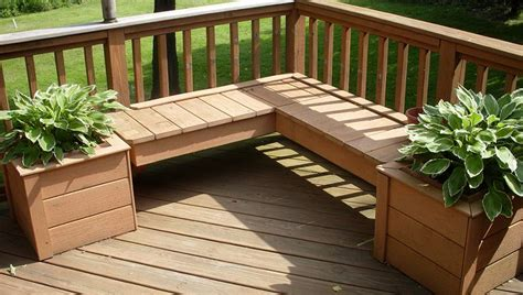 Plans For Planter Boxes For Decks by Deck Planter Boxes Bench Plans Home Design Ideas