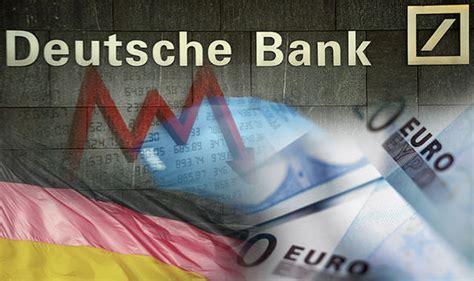 deutsche bank american express deutsche bank at danger level that could smash markets