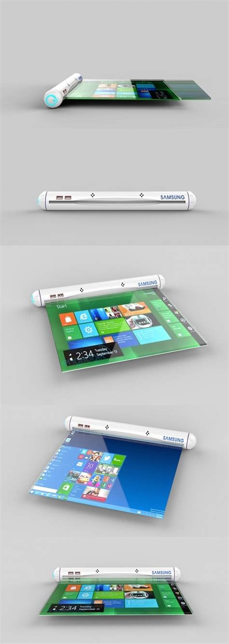 flex layout pinterest the samsung flexible roll applies future flex tech to