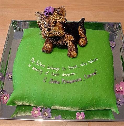 yorkie cake 1000 images about yorkie cakes cupcakes and pops on amazing dogs puppy