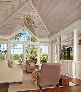 Cottage Kitchen Designs Photo Gallery - innovative united home builders cape coral vogue charleston beach style family room remodeling