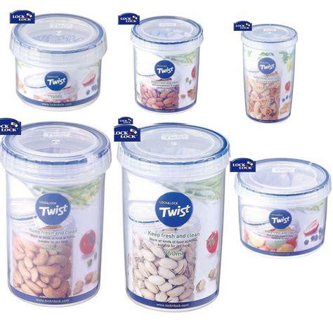 Lock Lock Twist lock lock twist lid food storage plastic 100