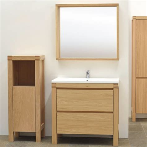 Oak Freestanding Bathroom Furniture Bathroom Furniture Cabinets Free Standing Furniture Diy At B Q