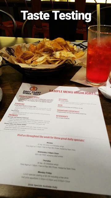 East Coast Wings Gift Card - tasting the goodness at east coast wings grill 60 gift card giveaway ends 2 28