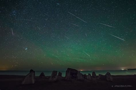 A Meteor Shower by Great Perseid Photos Here Science Wire Earthsky