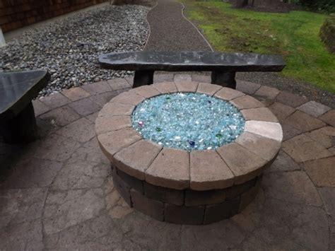 Pit Glass Block Propane Pit