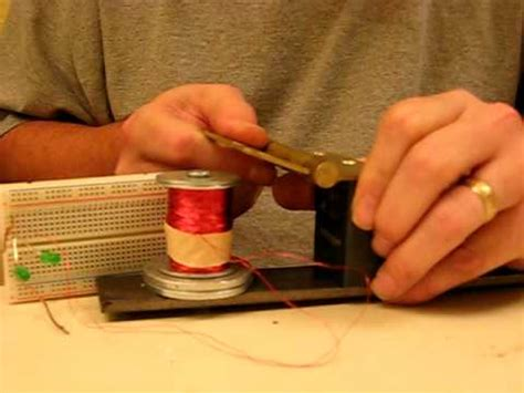 permanent magnet generator with no relative motion between
