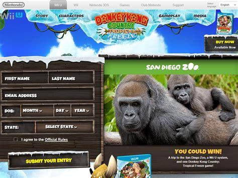 San Diego Sweepstakes - donkey kong country tropical freeze the san diego zoo sweepstakes sweepstakes fanatics