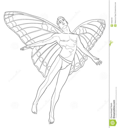 coloring pages of boy fairies fairy wing coloring pages download and print for free