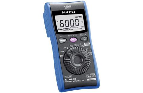 Multimeter Digital Hioki hioki dt4224 digital multimeter with c r measurement for