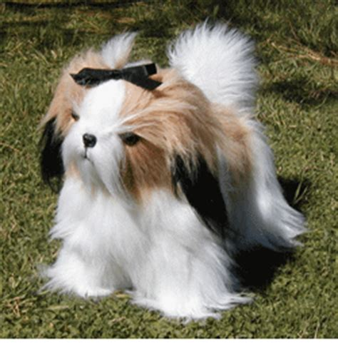 stuffed shih tzu stuffed shih tzu from kathy s kreations