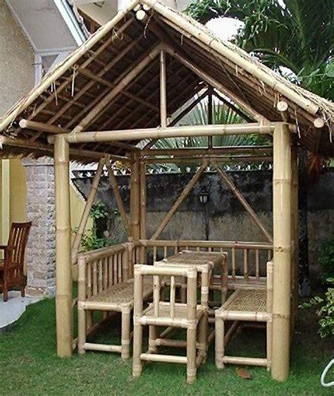 pavillon bambus pavillon