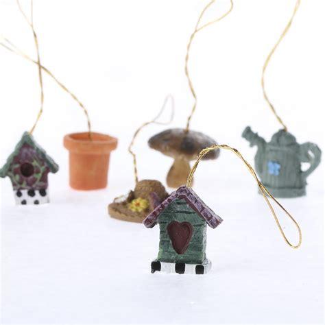 miniature resin garden ornaments christmas ornaments