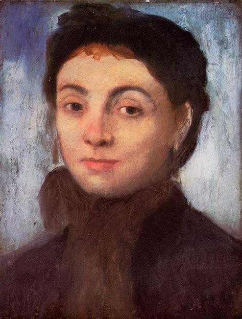 the portrait portrait of josephine gaujelin edgar degas wikiart org
