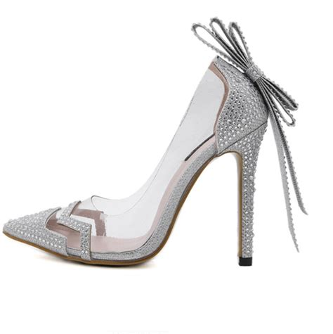compare prices on clear silver shoes shopping buy