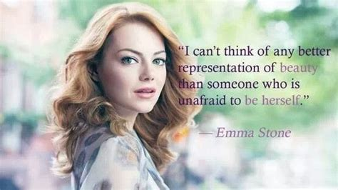emma stone quotes pinterest emma stone be yourself beauty quotes pinterest